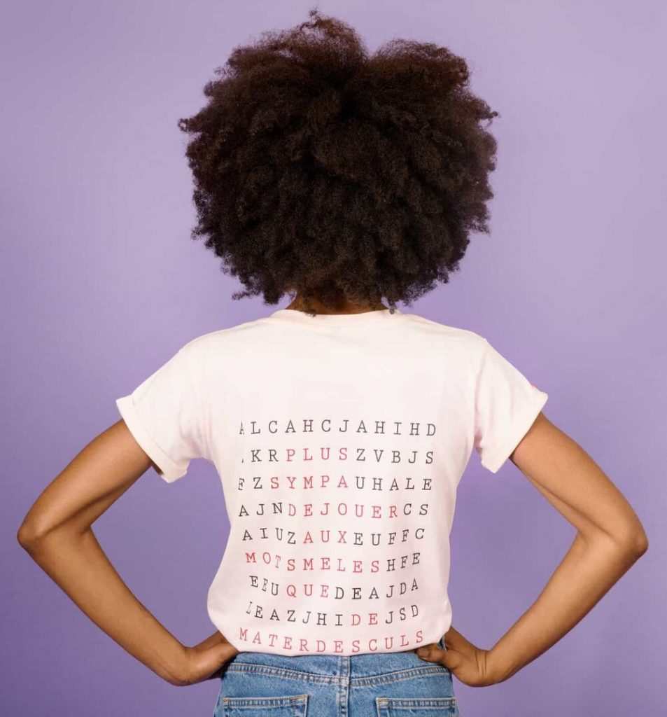 T-shirt - Mots-mêlés