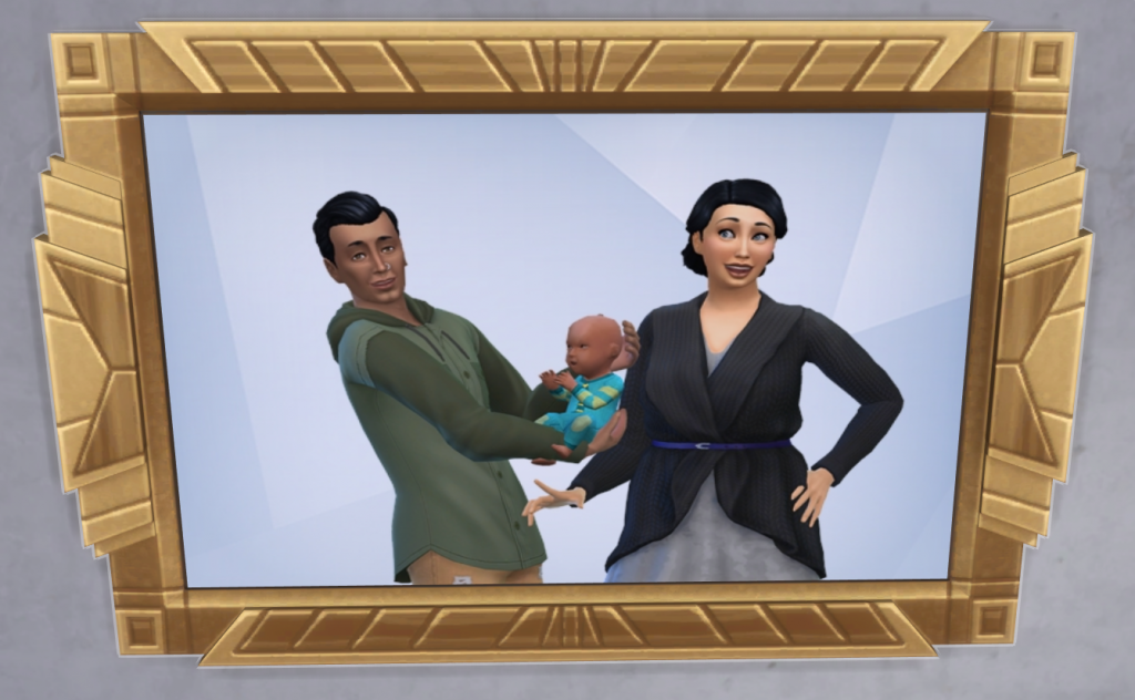 [Sims] Portrait famille Rousseau